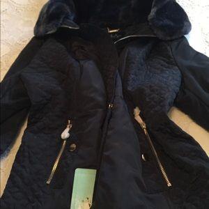 New blue jacket large
